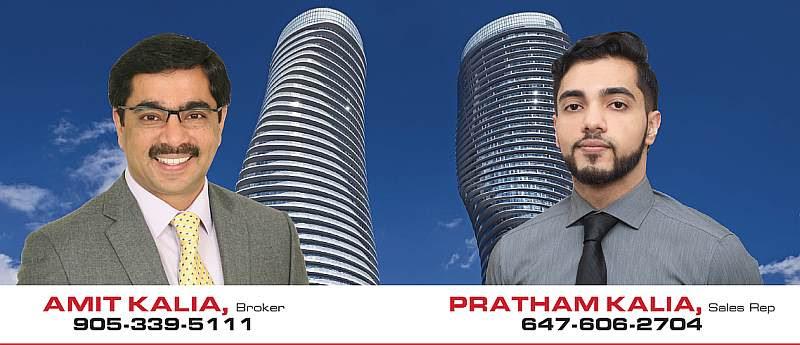 Mississauga Remax Realtors Team Amit Kalia Pratham Kalia