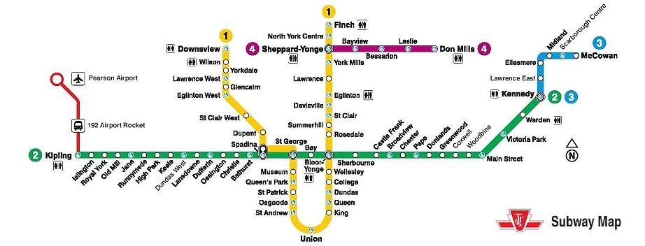 Kipling Subway Map.Ttc Subway Condos For Sale Toronto Condos Near Subway Line