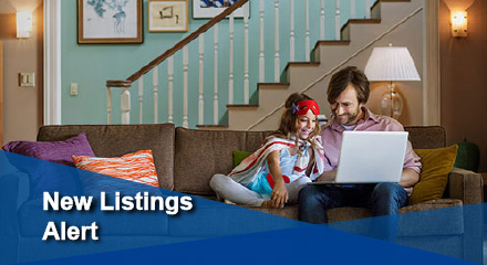 Receive Daily Property MLS listings alert- fresh MLS listings of homes condos