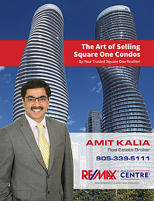 The Art of Selling Square One Condos Brochure 2017