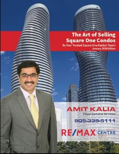 The Art of Selling Square One Condos Brochure 2018