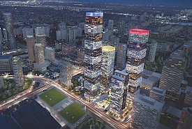 Exchange District Condos in downtown Mississauga