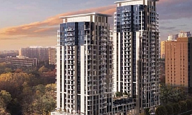 Keystone condos by Kaneff in Mississauga